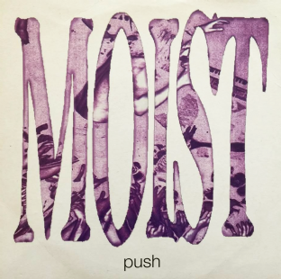 "Moist ‎- Push (7"") (Purple Vinyl) (EX/VG+)"